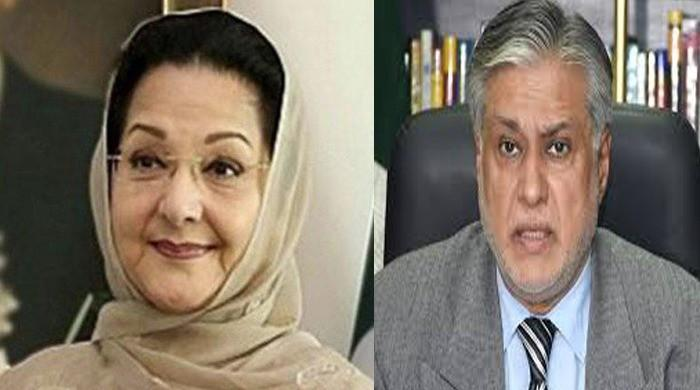PTI demands resignations from Dar, Kulsoom Nawaz