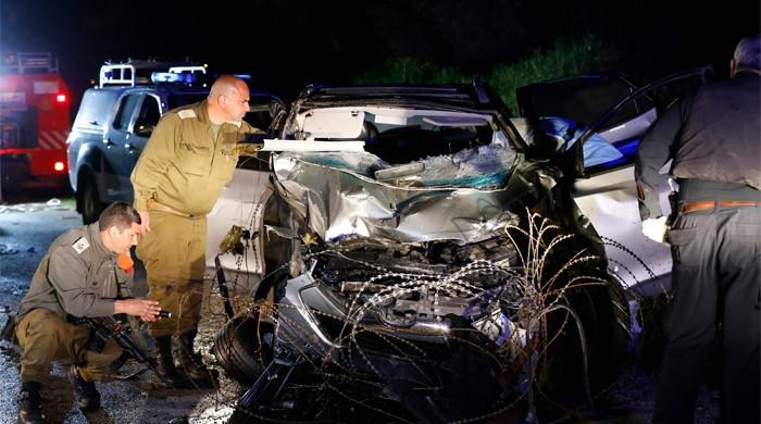 Two Israeli soldiers killed in West Bank car ramming