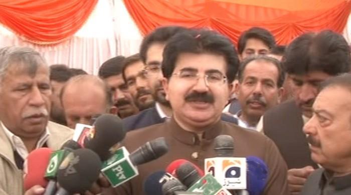 No truth to claims of establishment backing me: Sanjrani