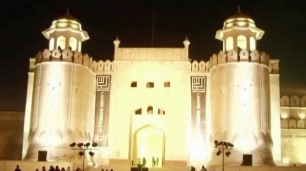 Art exhibition, musical evening at Lahore Fort