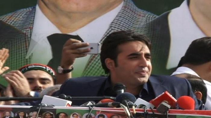 Bilawal Bhutto criticises Nawaz Sharif's 'respect the vote' slogan