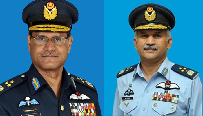 Air Chief Marshal Mujahid Anwar Khan takes over as PAF chief