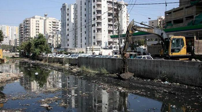 Who is responsible for cleaning Karachi?