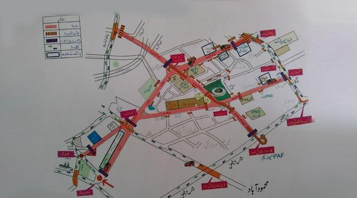 Police, Sindh govt reveal traffic plan for PSL final in Karachi