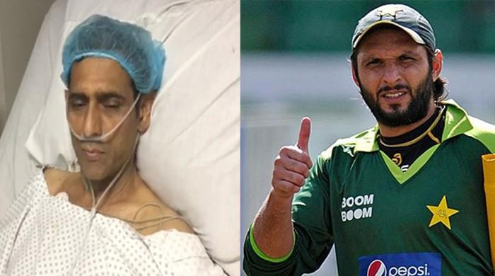 Shahid Afridi to bear expenses for hockey great Mansoor Ahmed's treatment