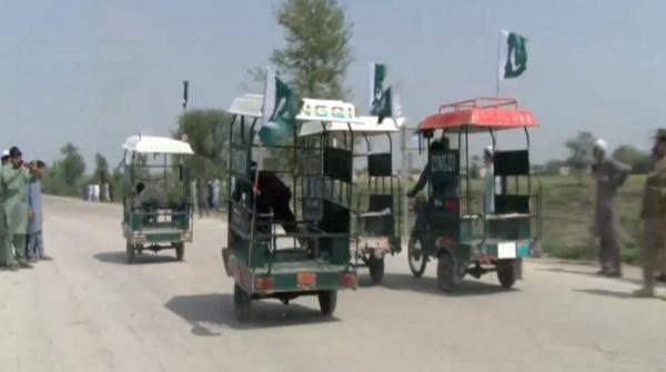 Qingqi rickshaw Race in Dera Ismail Khan organized by Pak Army