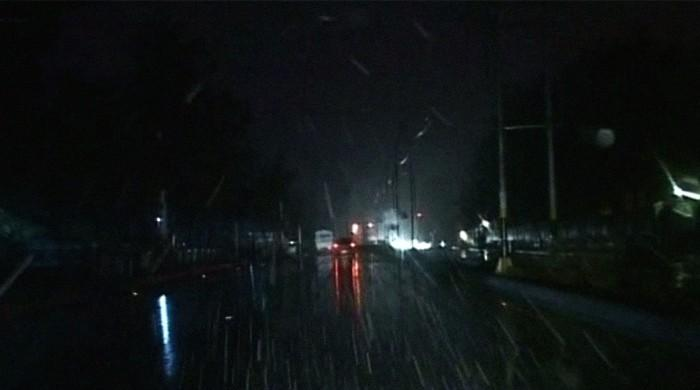Ziarat Valley experiences first spring snowfall in six years