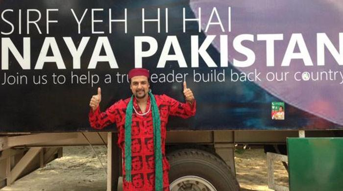 Staunch PTI supporter, musician Salman Ahmad, says 'no more'