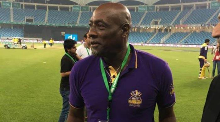 Great to be in Lahore again, says Viv Richards