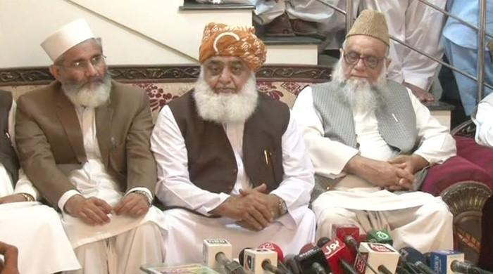 MMA revived, Maulana Fazl ur Rehman appointed president