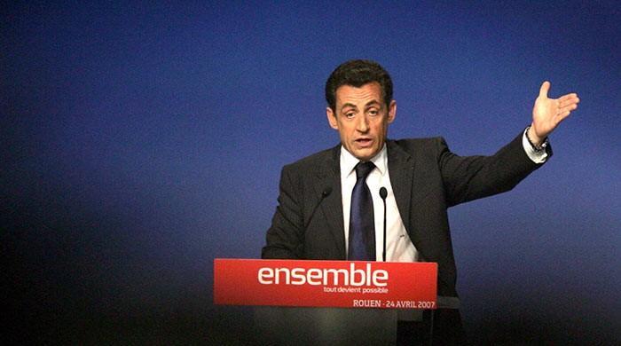 Former French president Sarkozy held in Libya financing probe