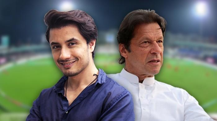 Ali Zafar delivers yorker to ex-cricketer Imran Khan for being a spoilsport