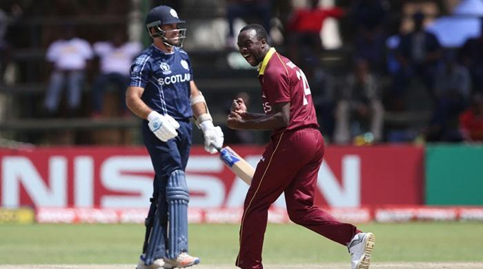 West Indies qualify for World Cup with controversial win over Scotland