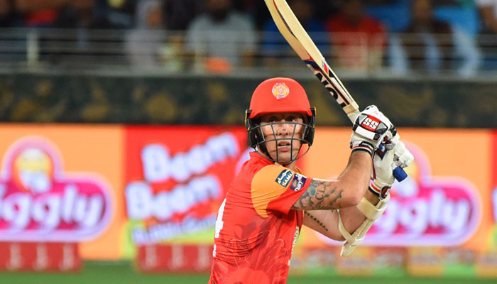 Luke Ronchi is Islamabad United's highest scorer and the third highest run scorer of this season overall, with 383 runs at an average of 42.55 and strike rate of 179.81. He has hit 4 fifties in this tournament