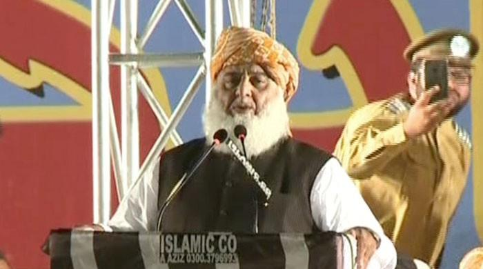 JUI-F to restore peace in Karachi, says Maulana Fazl
