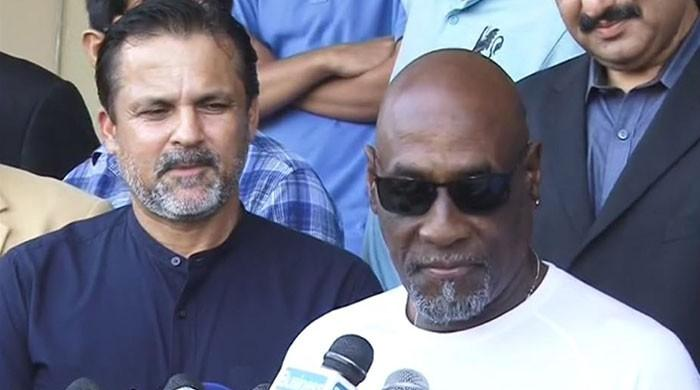 Pakistan is safe for cricket, says Viv Richards