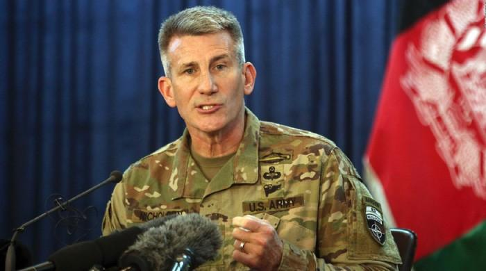 Russia arming Afghan Taliban: US general