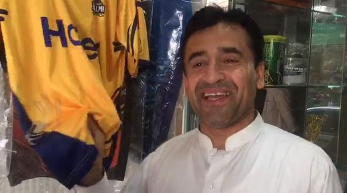 Peshawar Zalmi shirts selling out fast as fans gear up for #YellowStorm