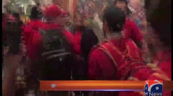 Islamabad United players arrive in Karachi