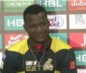 Sammy requests Karachi's Pashtuns to support Zalmi in PSL final