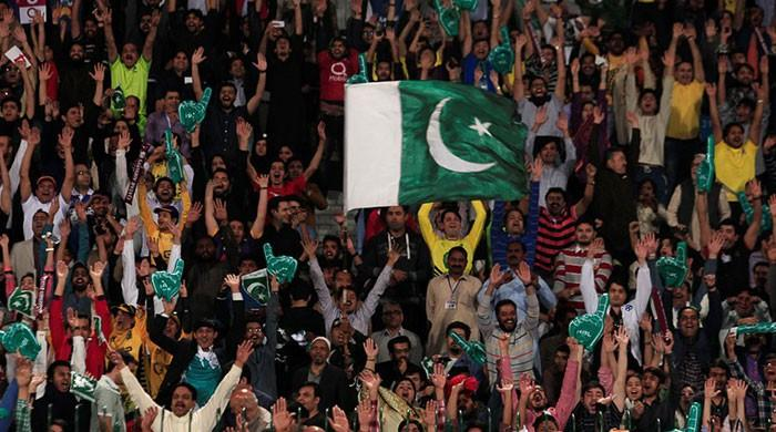 The wait is over as international cricket returns to Karachi
