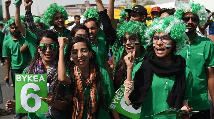 IN PICTURES: PSL brings colours of cricket back to Karachi
