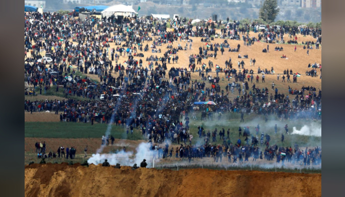 Palestinians killed after Gaza protests