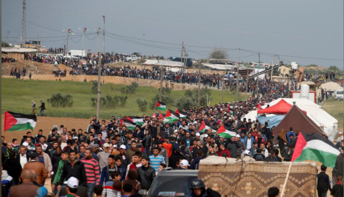 Palestinians killed in clashes along Gaza border