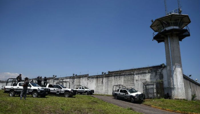 Seven police officers killed trying to quell prison riot in Mexico