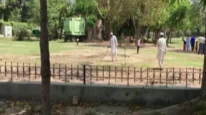 Park near Ishaq Dar's house restored upon CJP's orders