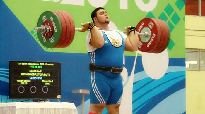 Weightlifter Nooh Dastagir Butt - one of Pakistan's brightest medal hopes at CWG18