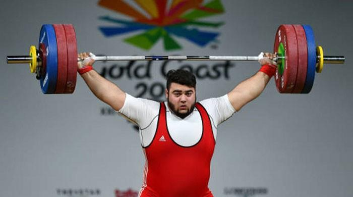 Pakistani weightlifter Nooh Butt wins bronze at Commonwealth Games