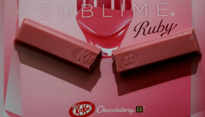 nestle to launch ruby chocolate kitkat in europe and americas