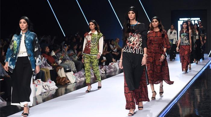 Pakistani designers tackle social issues on FPW day one