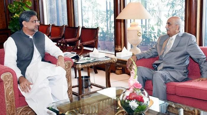 Abbasi suggests to Shah retired judge should not be appointed caretaker PM: sources
