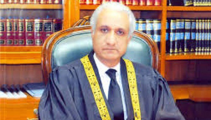 Shots fired at residence of Supreme Court judge Justice Ijaz Ul Ahsan