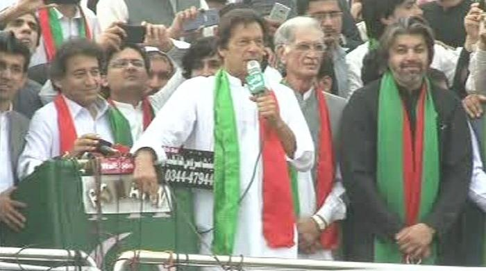 Those who looted masses are now attacking institutions: Imran Khan