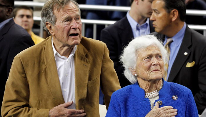 Barbara Bush's Granddaughter Says 'She's A Fighter'