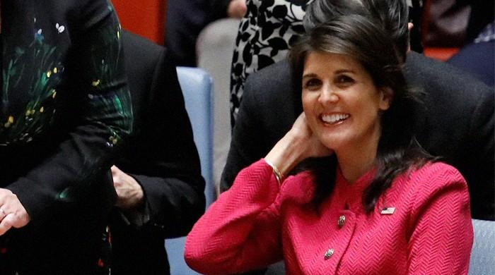 US envoy to UN Haley says relationship with Trump 'perfect'