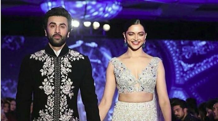 Ranbir, Deepika set ramp on fire
