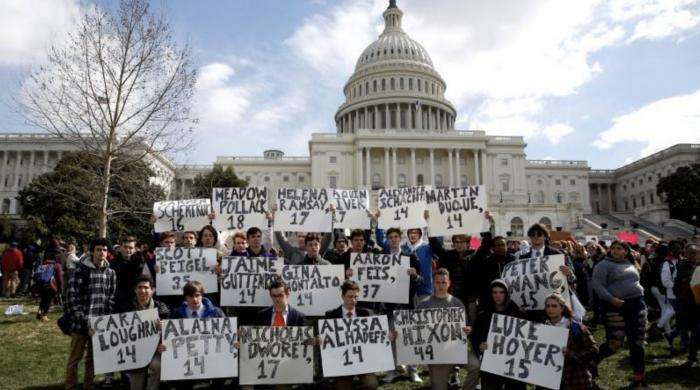 Students to walk out across the United States in call for gun reforms