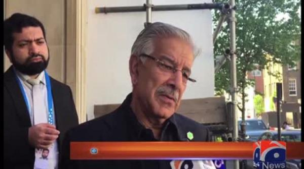Khawaja Asif slams Modi for claims about 'imaginary' surgical strikes