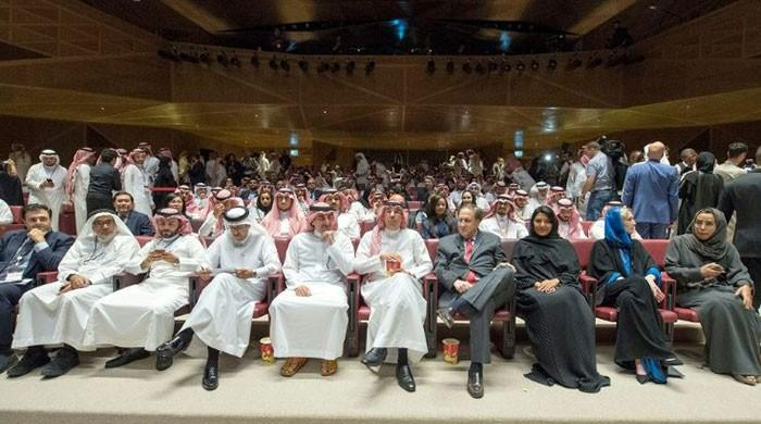 Saudi Arabia hosts first public screening in over 35 years