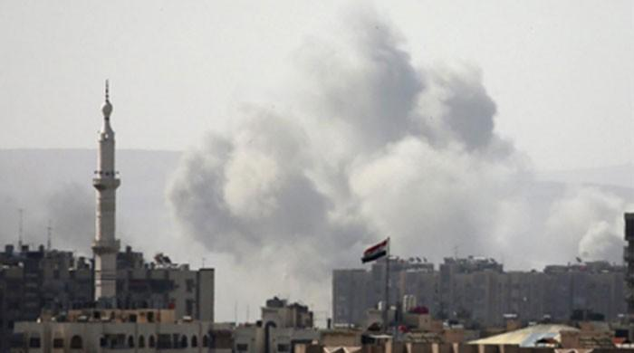 Syrian rebels withdraw from enclave northeast of Damascus