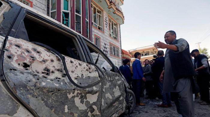 Blast at election centre in Afghan capital kills dozens