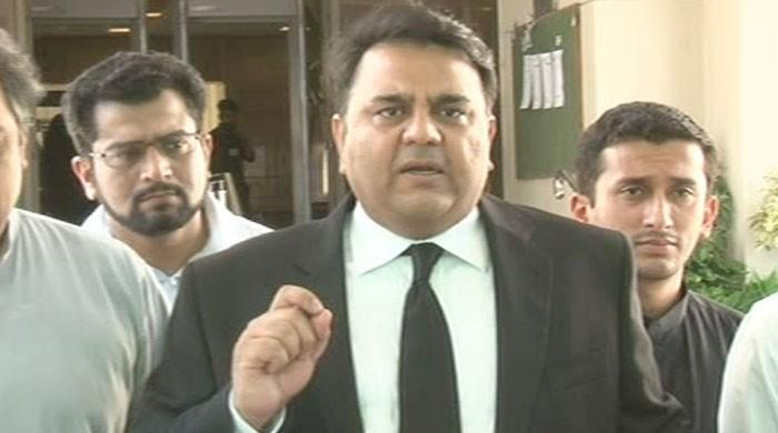 Siraj-ul-Haq should step down if he disagrees with PTI's policies: Fawad Chaudhry