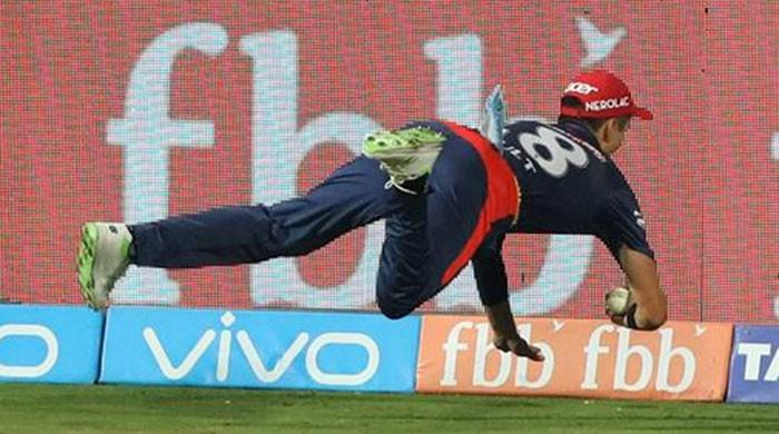 Boult's jaw-dropping IPL catch leaves cricket world in awe