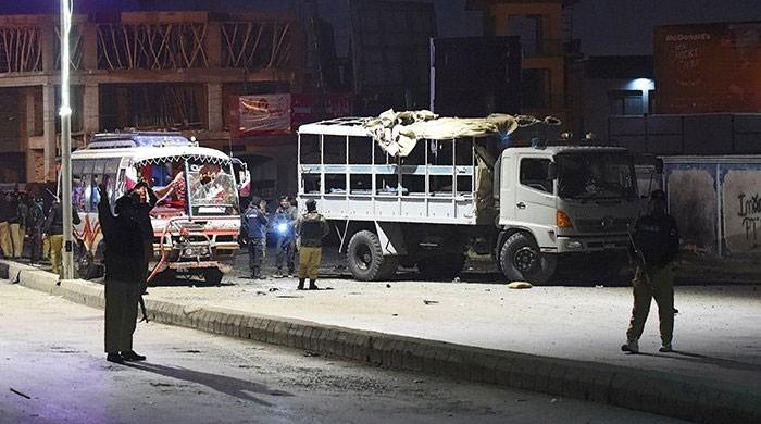 Four FC personnel martyred, 51 injured in Kohlu road accident