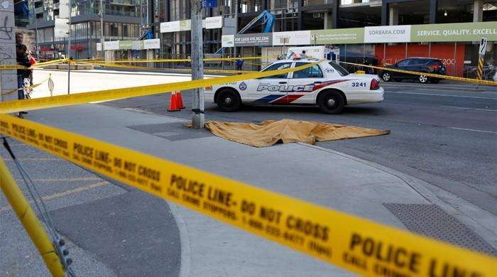 At least 10 dead, 15 injured as man rams van into pedestrians in Toronto: police