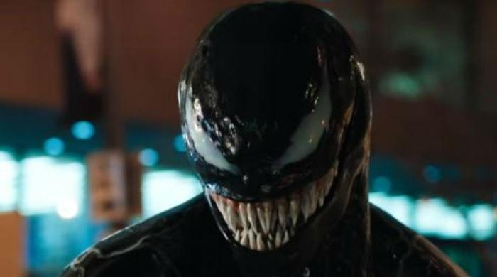 Tom Hardy embraces inner anti-hero in Venom's first trailer